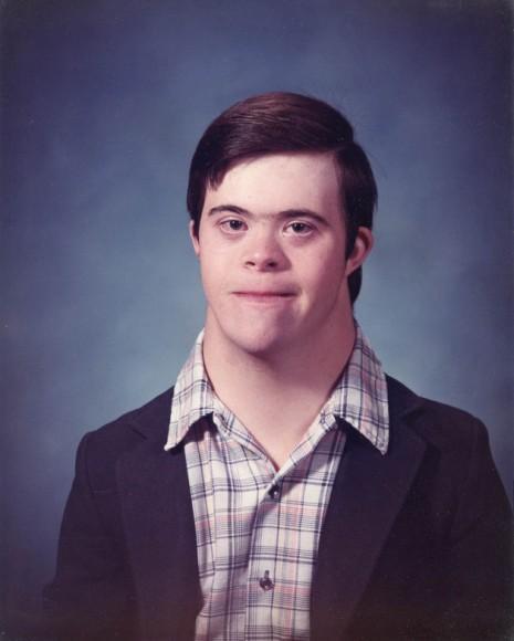 Michael, school portrait 1981