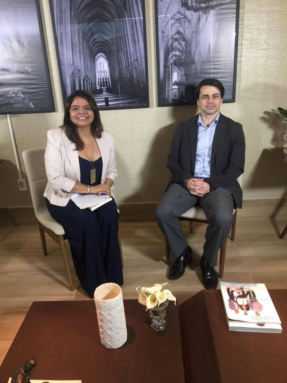 Você vai conferir na entrevista nacional [27.04.17], o médico urologista Rafael Coelho. Ele veio a Teresina apresentar uma palestra sobre os avanços da robótica.