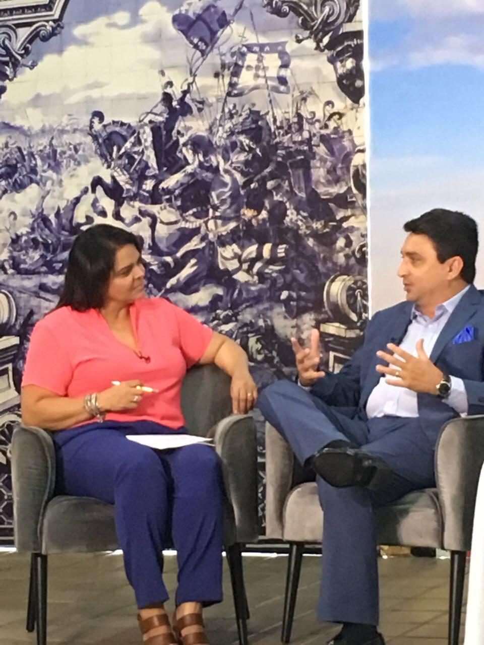 Falando Nisso de 25.05.17, com a Entrevista Nacional com guru empreendedores Eduardo Gomes de Matos