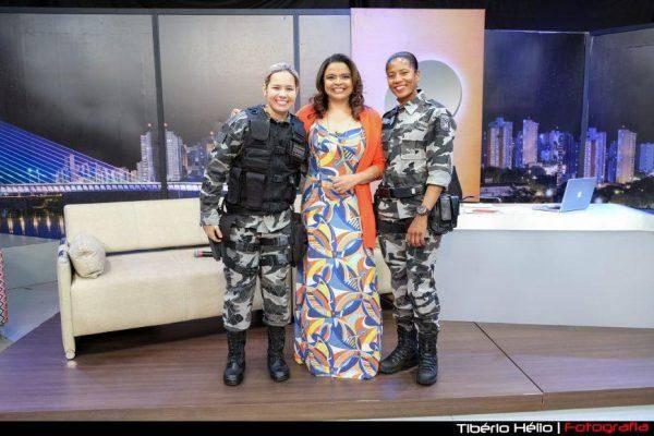 NO FALANDO NISSO DE HOJE [26.12.17], VAMOS CONHECER AS DUAS POLICIAIS MILITARES DA TROPA DE CHOQUE NO PIAUÍ