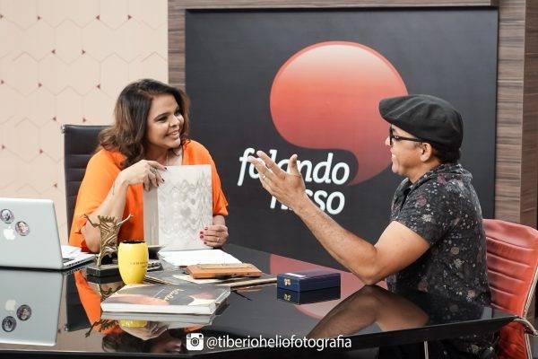 PARTICIPAM DO FALANDO NISSO DE QUARTA(13) O ESCULTOR BRAGA TEPI